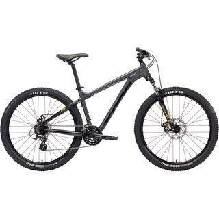 Kona Lana'I 26 2018, charcoal/black/yellow - Mountainbike