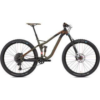 NS Bikes Snabb 130 Plus 1 2018, army green - Mountainbike