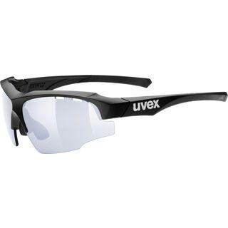 uvex Sportstyle 107 VM, black mat/Lens: variomatic litemirror blue - Sportbrille