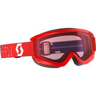 Scott Jr Agent, red/Lens: amplifier - Skibrille
