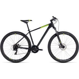 Cube *** 2. Wahl *** Aim 27.5 2018 | Größe 14 Zoll, black´n´green - Mountainbike