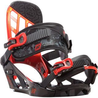 K2 Vandal 2017, black - Snowboardbindung