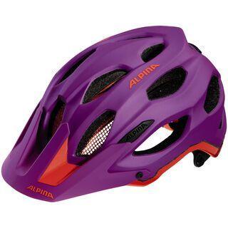 Alpina Carapax, purple neon red - Fahrradhelm