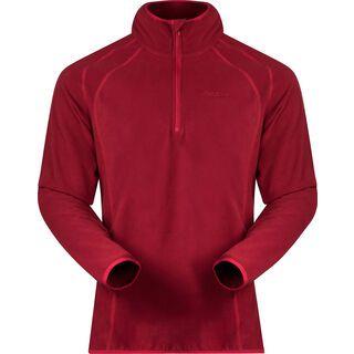 Bergans Ombo Half Zip, burgundy/red - Fleecepullover