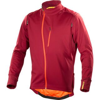 Mavic Aksium Convertible Jacket, red - Radjacke