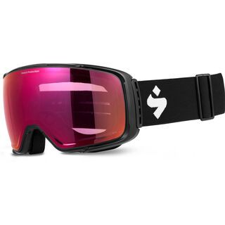 Sweet Protection Interstellar RIG Reflect, matte black/Lens: RIG bixbite - Skibrille