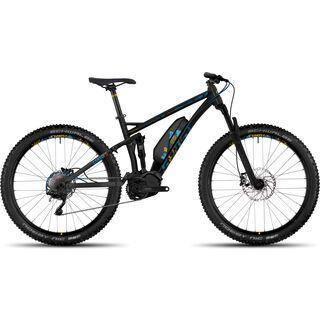 Ghost Hybride Lanao FS 4 AL 2017, black/blue/yellow - E-Bike