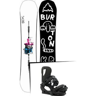 Set: Burton Kilroy Process 2019 + Burton Cartel black matte