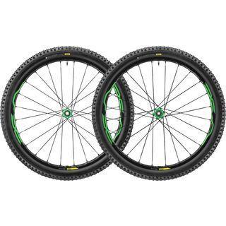 Mavic XA Elite 27.5, black/green - Laufradsatz