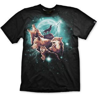 Loose Riders T-Shirt Wolfpack