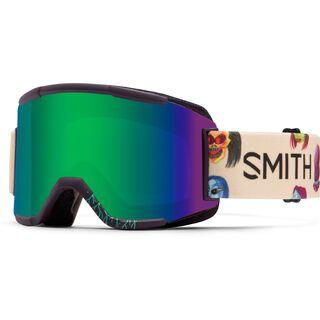 Smith Squad inkl. Wechselscheibe, creature/Lens: green sol-x mirror - Skibrille