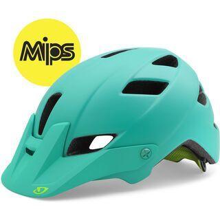 Giro Feather MIPS, turqoise - Fahrradhelm
