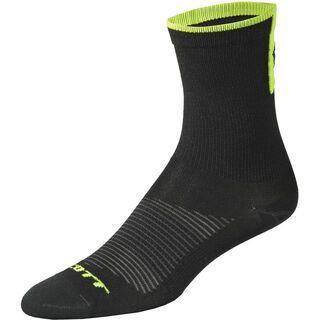 Scott Road Long Sock, black/white - Radsocken