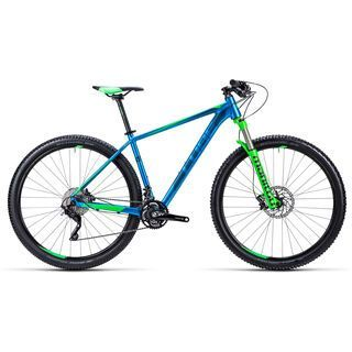Cube LTD Race 29 2015, blue/green - Mountainbike