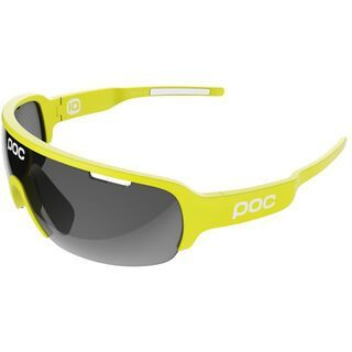 POC DO Half Blade Team Cannondale inkl. Wechselscheibe, yellow/Lens: black - Sportbrille