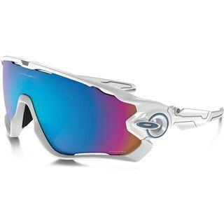 Oakley Jawbreaker Prizm Snow, polished white - Sportbrille