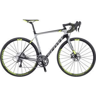 Scott Solace 10 Disc 2016, black/grey/yellow - Rennrad