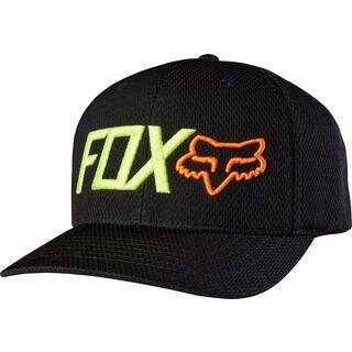 Fox Static Snapback Hat, black - Cap