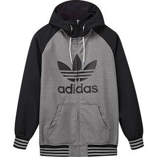 Adidas Greeley Softshell Jacket, core heather/dark grey