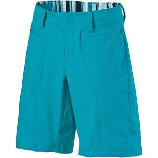 Scott Womens Sky 10 ls/fit Shorts, ocean blue/aqua blue - Radhose