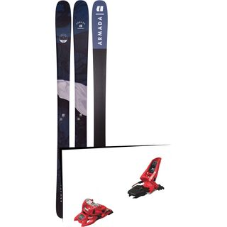 Set: Armada Tracer 98 2019 + Marker Squire 11 ID red