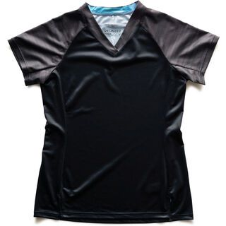 Specialized Women's Andorra Jersey SS, black/charcoal - Radtrikot
