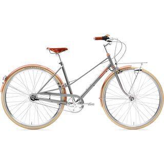 Creme Cycles Caferacer Lady Doppio 2018, gray rose - Cityrad