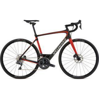 Specialized Roubaix Expert Ultegra Di2 2018, carbon/red/silver - Rennrad