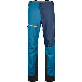 Ortovox 3L Merino Naked Sheep Ortler Pants M, blue sea - Skihose