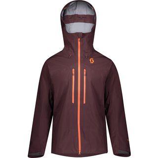 Scott Explorair GTX Pro 3L Men's Jacket, red fudge - Skijacke