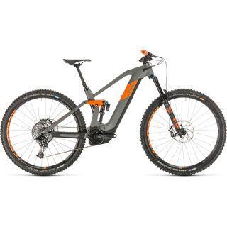 Cube Stereo Hybrid 140 HPC TM 29 2020, grey´n´orange - E-Bike