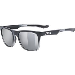 uvex lgl 42, black transparent/Lens: mirror Silver - Sonnenbrille