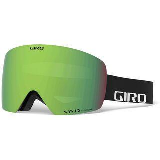 Giro Contour inkl. WS, black wordmark/Lens: vivid emerald - Skibrille
