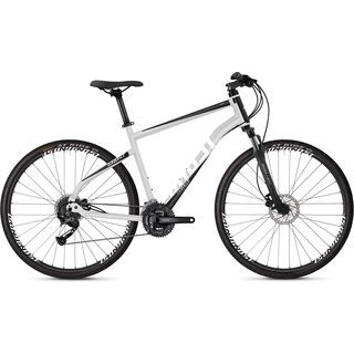 Ghost Square Cross 1.8 AL 2019, silver/black/white - Fitnessbike