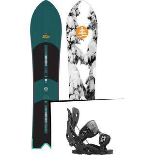 Set: Burton Skipjack Surf 2017 + Flow Fuse (1513139S)
