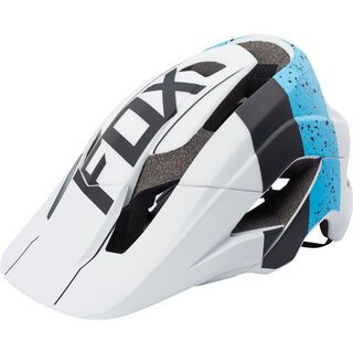 Fox Metah Kroma Helmet, blue white - Fahrradhelm
