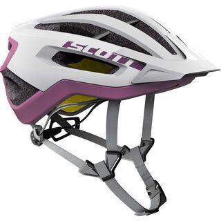 Scott Fuga Plus Helmet, white/purple - Fahrradhelm