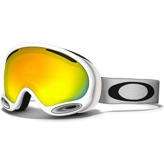 Oakley A Frame 2.0, Polished White/Fire Iridium - Skibrille
