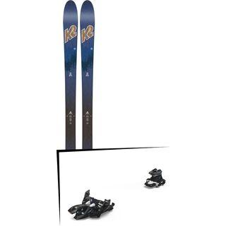 Set: K2 SKI Wayback 82 ECOre 2018 + Marker Alpinist 12 black/titanium