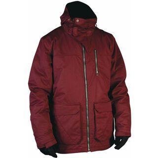 Nitro Vex Jacket, Maroon Slub Twill - Snowboardjacke