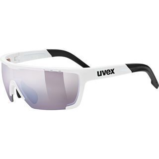 uvex sportstyle 707 cv, white/Lens: colorvision outdoor litemirror - Sportbrille