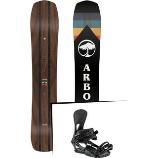 Set: Arbor A-Frame 2019 + Nitro Machine blackout