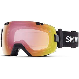 Smith I/Ox Turbo Fan photochromatisch inkl. Wechselscheibe, black/red sensor mirror - Skibrille