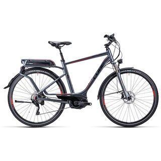 Cube Touring Hybrid Pro 2015, anthrazit black red - E-Bike