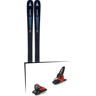 Set: Atomic Vantage 90 TI W 2019 + Marker Jester 18 Pro ID black/flo-red