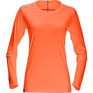 Norrona /29 tech long sleeve Shirt (W), orange alert - Funktionsshirt