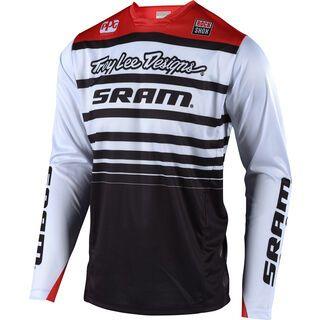 TroyLee Designs Sprint SRAM Jersey, white/black - Radtrikot