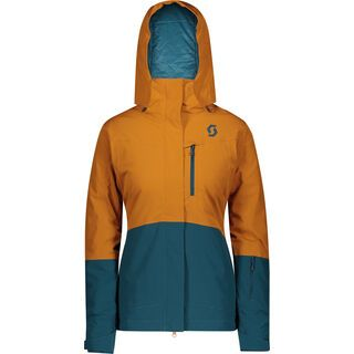 Scott Ultimate Dryo 10 Women's Jacket, ginger bread/majolica blue - Skijacke