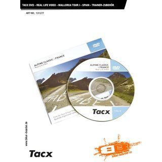 Tacx DVD - Real Life Video - Mallorca Tour I - Spain - Trainer-Zubehör