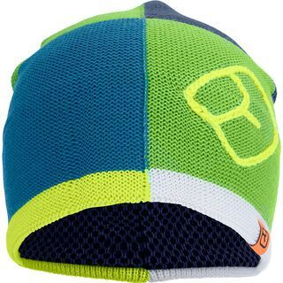Ortovox Patchwork Beanie, matcha green - Mütze